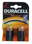 Duracell Base C Battery - Pack 2